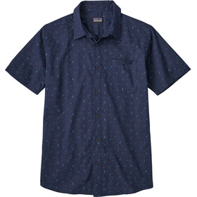 Patagonia Go To Shirt Men Rockwall: Classic Navy